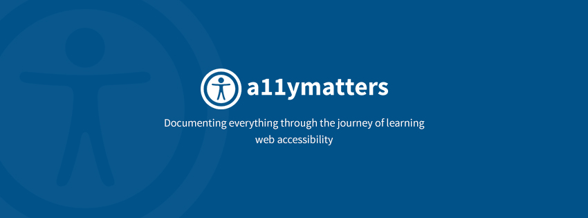 Accessibility Matters - Search Form